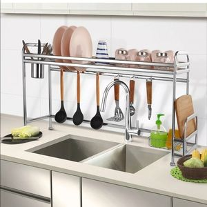 New Stainless Over the counter dish rack